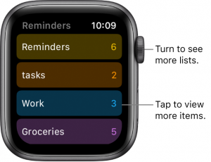 Apple Series 5 Reminder app review