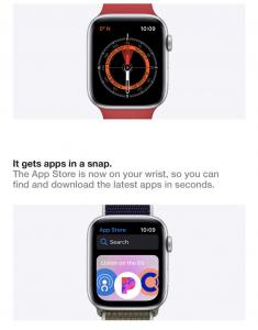 apple watch series 6 specs