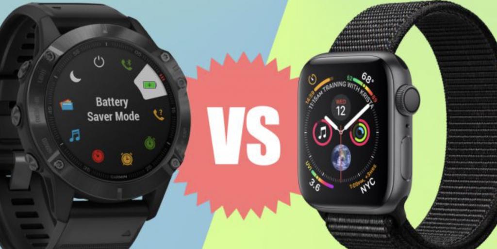 Garmin Fenix 6 Pro vs. Apple Watch Series 5