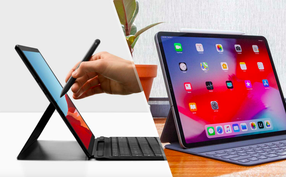 Comparing the Microsoft Surface Pro X vs 12.9-inch iPad Pro - Review Guide