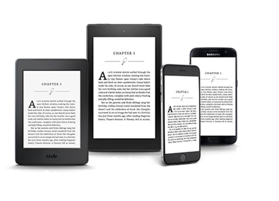 amazon kindle e readers