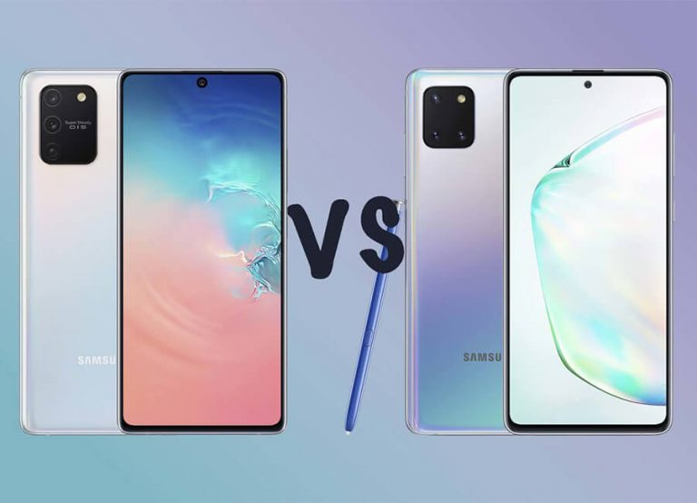 Comparing the Samsung Galaxy S10 Lite & Note 10 Lite | TechDetects