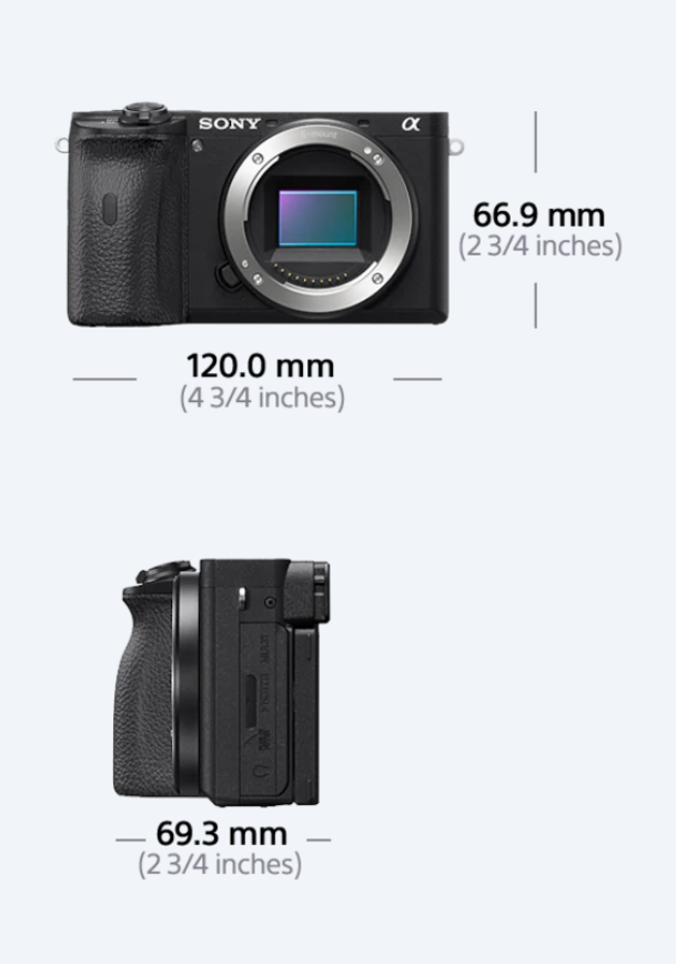 Sony A6600 (Review) - Specifications- Functions - Guides