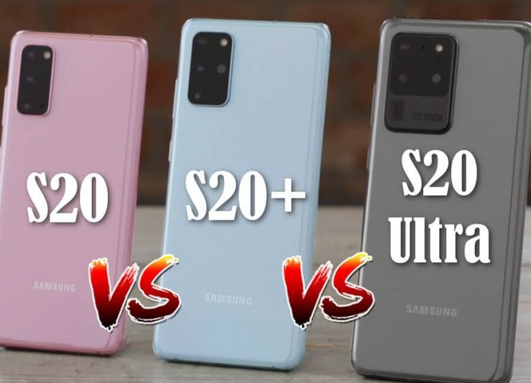 Comparing Samsung Galaxy S20, S20 Plus & S20 Ultra | TechDetects