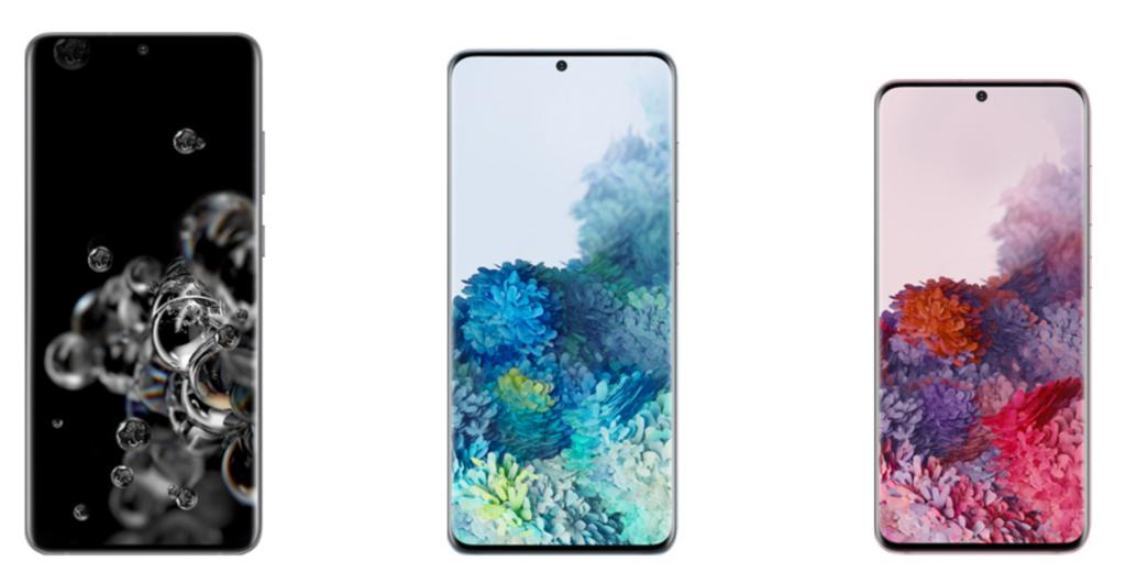Comparing Samsung Galaxy S20, S20+(Plus) & S20 Ultra