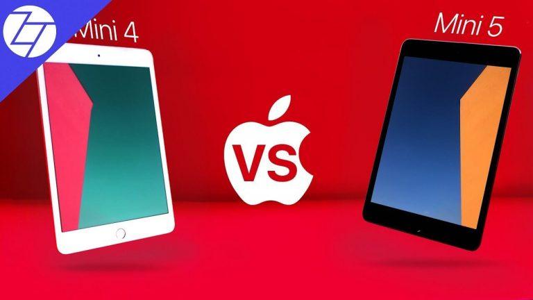 Apple iPad Mini 5 vs. iPad Mini 4 – Similarities and Differences [Comparison]