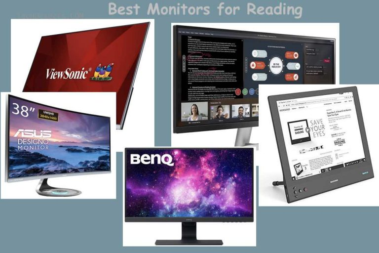 Best Monitors for Reading to Buy in 2021 – Top 5