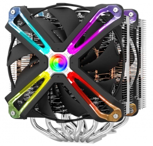 Zalman CNPS 20x CPU Cooler with 4D Patented Corrugated Fin Design