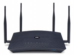 MOTOROLA AC2600 4x4 WiFi Smart Gigabit Router with Extended Range