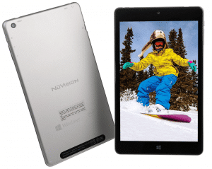 NuVision 8-inch Full HD IPS Touchscreen Tablet PC