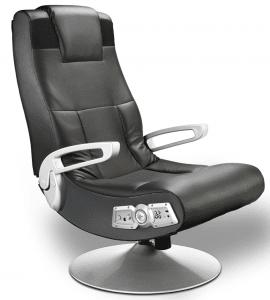 X Rocker SE 2.1 Black Leather Video Gaming Chair