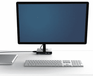 HumanScale M2 Monitor Arm with M:Connect USB 3.0 Dual-Video Docking Station