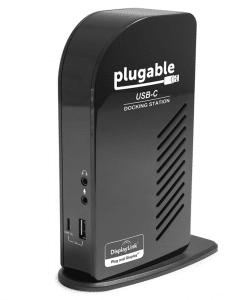 Plugable USB-C Triple Display Docking Station