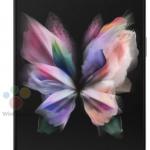 Samsung Galaxy Z Fold 3 tablet front