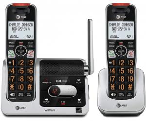 AT&T BL102-2 DECT 6.0 2-Handset Cordless Phone