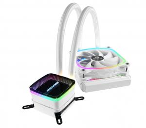 Enermax Aquafusion 120 White Addressable RGB AIO CPU Liquid Cooler