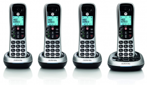 Motorola CD4014 DECT 6.0 Cordless Phone